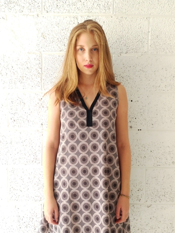 mini dress over size